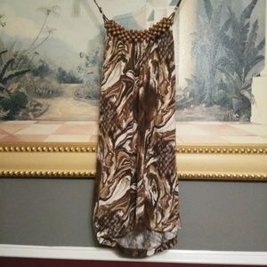 ALYX size Small halter top with wood bids small